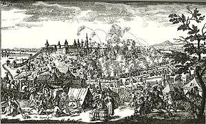 Siege of Belgrade (1688) - Image: Belgrad 1688 by Adlerschwung