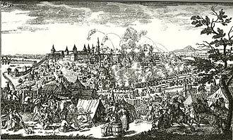Siege of Belgrade (1688) - Siege of Belgrade in 1688