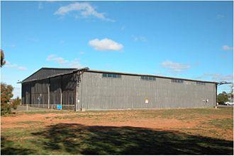 Bellman hangar - Port Pirie, South Australia, 2007.