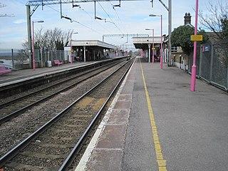 Benfleet railway station Railway station in Essex, England