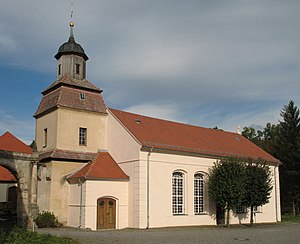 Radeburg - Church in Radeburg-Berbisdorf
