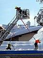 Berchtesgaden, Feuerwehr beim Dachabschaufeln, 2.jpeg