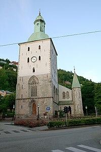 The church in Bergen domkirke parish in Bergen, Norway