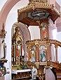 Bergholtzzell, Église Saint-Benoît à l'intérieur 2.jpg
