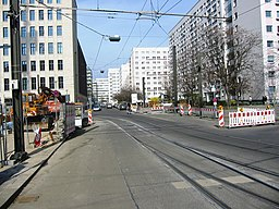 Bernhard-Weiß-Straße in Berlin