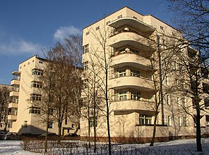 Berlin Modernism Housing Estates - Image: Berlin C Legien Trachtenbrodtstr 20