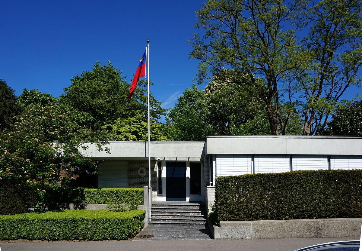 List of diplomatic missions of Liechtenstein