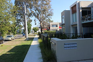 O'Connor, Australian Capital Territory - Two-storey units in Berrigan Crescent