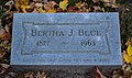 Bertha Josephine Blue 02 - Lake View Cemetery - 2015-10-12 (21669302653).jpg