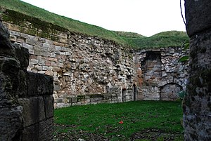 Berwick-upon-Tweed - Berwick-upon-Tweed fortress detail