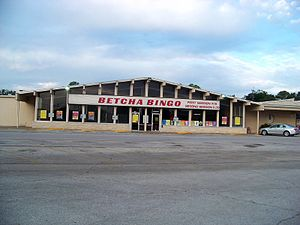 Gambling in Texas - A charitable bingo hall in Irving