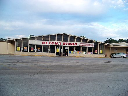 A charitable bingo hall in Irving