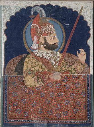 Rana (title) - Bhim Singh, the Rana of Udaipur