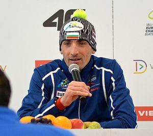 Vladimir Iliev - Image: Biathlon European Championships 2017 Sprint Men 1906