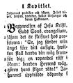 Bibelöfversättningar, Ur normalupplagan 1884 af Nya testamentet, Markus' evang, 1, 1-4, Nordisk familjebok.png