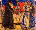 Biblical Scene. circa 1911. Christian Rohlfs.jpg