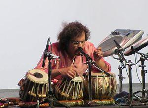 Bickram Ghosh - Ghosh performing in 2011
