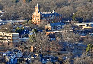 Johnson C. Smith University - Biddle Memorial Hall