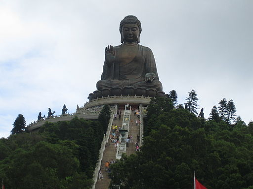 Big Buddha Statue at Lantau Island