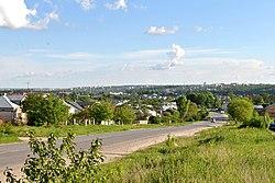 Початок села з боку Чистилова