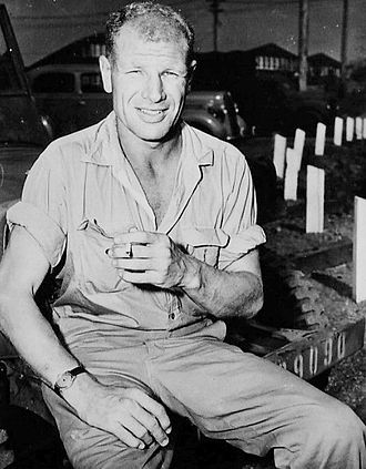 Bill Veeck - Veeck in 1944 as he recuperated from his World War II injuries.
