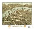 Bird's eye view of Prairie du Sac, Sauk County, Wisconsin 1870. LOC 73694551.jpg