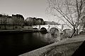 Black and White, Seine River Paris (4199668142).jpg