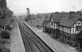 Blacon Railway Station Wikipedia