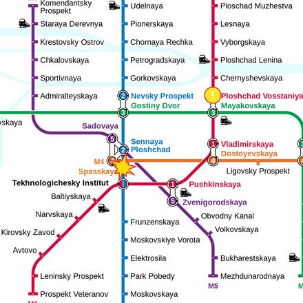 Saint Peterburg Subway Map.Saint Petersburg Metro Wikiwand