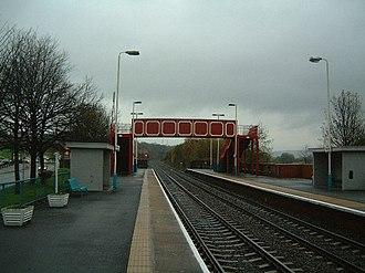 Blaydon railway station - Image: Blaydon Railway Station