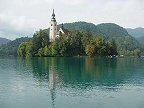 Bled island with church01.JPG