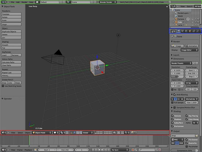 Blender 3D: Noob to Pro/Advanced Tutorials/Blender Scripting