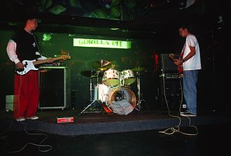 Cheshire Cat (Blink-182 album) - Blink at The Gorilla Pit in October 1993.