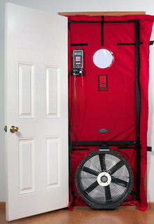 Fully Assembled Blower Door In The Us