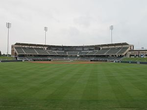 Olsen Field at Blue Bell Park - Blue Bell Park, Stands
