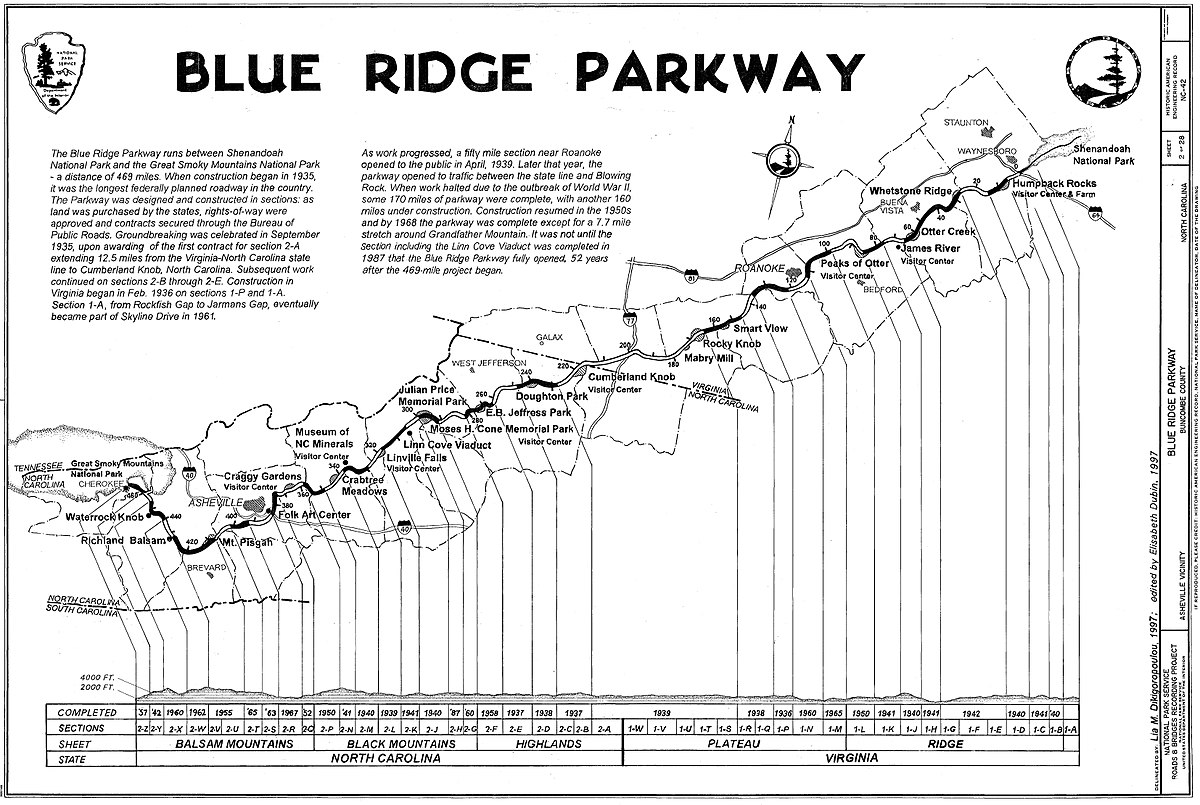 Blue Ridge Parkway Wikipedia