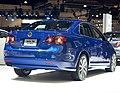 Blue VW Jetta TDI Cup Edition rr LA Auto Show 2009.jpg