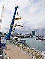 Boat lift crane in Gosport Marina - geograph.org.uk - 1424169.jpg