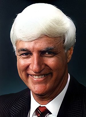 Katter's Australian Party - Bob Katter, party leader 2011–present, pictured earlier in his parliamentary career.