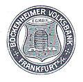 Bockenheimer Volksbank historisches Firmenlogo A1.jpg