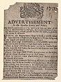 Bodleian Libraries, Handbill of Merchant's Hall, 1739, announcing A lion, lionesses, tigers, etc..jpg