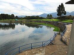 Bogotá Lago Simón Bolívar.JPG