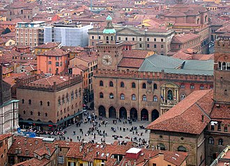Higher education - University of Bologna, located in Bologna, Italy, is the oldest institution of higher education in the Western world.