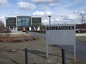 LEW Hennigsdorf - Image: Bombardier in Hennigsdorf