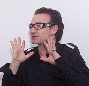 Le chanteur Bono du groupe U2