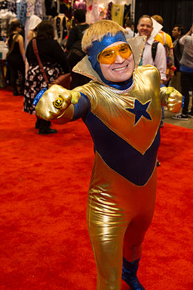 Cosplay de Booster Gold