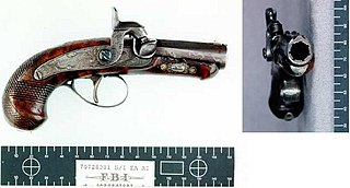 Derringer Small pistol that is neither a semiautmatic or revolver.