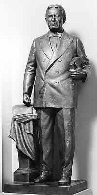 Bryant Baker - William Borah, 1947 in Washington, D.C.