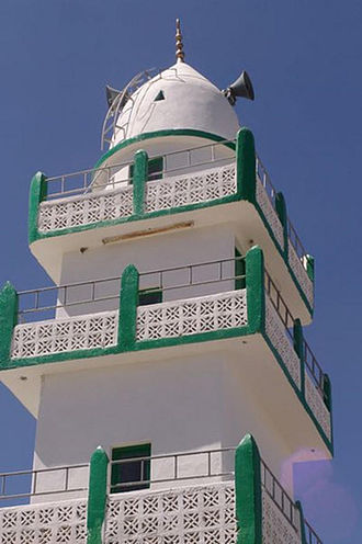 Culture of Somalia - Mosque in Borama, Somalia.