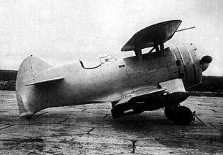 Borovkov-Florov I-207 1937 fighter aircraft series by Borovkov-Florov